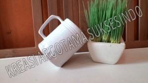 6 mug polos putih copy